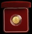 London Coins : A167 : Lot 77 : Half Sovereign 2002 Proof FDC in the red box of issue with certificate