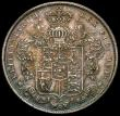 London Coins : A167 : Lot 776 : Halfcrown 1826 ESC 646 Unc with a lovely tone and graded CGS AU 78