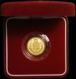 London Coins : A167 : Lot 78 : Half Sovereign 2002 Proof FDC in the red box of issue with certificate