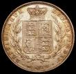 London Coins : A167 : Lot 796 : Halfcrown 1850 ESC 684, Bull 2733 NEF with touches of golden toning in the legends , the obverse wit...