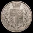 London Coins : A167 : Lot 800 : Halfcrown 1883 ESC 711, Bull 2762 NEF