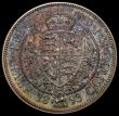 London Coins : A167 : Lot 804 : Halfcrown 1893 Proof ESC 727, Bull 2779, Davies 663P nFDC with a choice deep and multicoloured tone,...