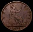 London Coins : A167 : Lot 864 : Penny 1861 Freeman 28 dies 5+G About VG/VG and extremely rare rated R18 by Freeman