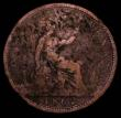 London Coins : A167 : Lot 873 : Penny 1862 VIGTORIA error legend a recently discovered type, previously unlisted by Freeman, Gouby, ...