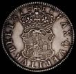 London Coins : A167 : Lot 896 : Shilling 1658 Cromwell ESC 1005, Bull 254 with a small flan flaw in the obverse field , otherwise NE...