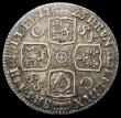 London Coins : A167 : Lot 903 : Shilling 1723 SSC First Bust, R of GEORGIVS struck over a larger R, as ESC 1176, Bull 1586 GVF/NEF a...
