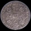 London Coins : A167 : Lot 947 : Sixpence 1741 Roses ESC 1613, Bull 1751, EF with an attractive and colourful underlying tone, the ob...