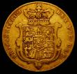 London Coins : A167 : Lot 971 : Sovereign 1825 Bare Head, Marsh 10 Near Fine
