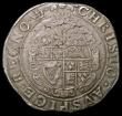 London Coins : A168 : Lot 1092 : Halfcrown Charles I Group III, Third horseman, Type 3b Reverse with Plume above shield, S.2774 mintm...
