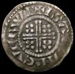 London Coins : A168 : Lot 1111 : Penny Henry II Short Cross moneyer Isaac, York Mint Class 1b S.1344 Good Fine