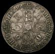 London Coins : A168 : Lot 1127 : Crown 1667 Diagonal stops on edge ESC 35A, Bull 372 Good Fine/NVF and bold, in an LCGS holder and gr...