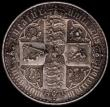 London Coins : A168 : Lot 1145 : Crown 1847 Gothic UNDECIMO ESC 288, Bull 2571 GVF/NEF