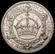 London Coins : A168 : Lot 1162 : Crown 1932 ESC 372 Unc and Prooflike, small nick obverse otherwise choice