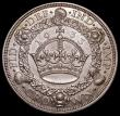 London Coins : A168 : Lot 1164 : Crown 1933 ESC 373, Bull 3644 GEF/EF with a hint of toning, the obverse with some light surface resi...