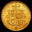 London Coins : A168 : Lot 1273 : Half Sovereign 1874 Marsh 449 Die Number 12 NEF with some light contact marks