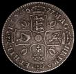 London Coins : A168 : Lot 1321 : Halfcrown 1677 VICESIMO NONO pleasant VF with an old tone