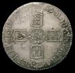 London Coins : A168 : Lot 1325 : Halfcrown 1696 First Bust, Small Shields ESC 534 GVF adjustment marks at date and graded 45 by LCGS ...
