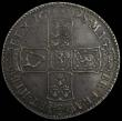 London Coins : A168 : Lot 1326 : Halfcrown 1698 DECIMO ESC 554, Bull 1034, GEF with grey tone, in an LCGS holder and graded LCGS 75, ...