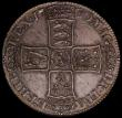 London Coins : A168 : Lot 1328 : Halfcrown 1700 DECIMO TERTIO ESC 562 evenly toned EF with light haymarking reverse