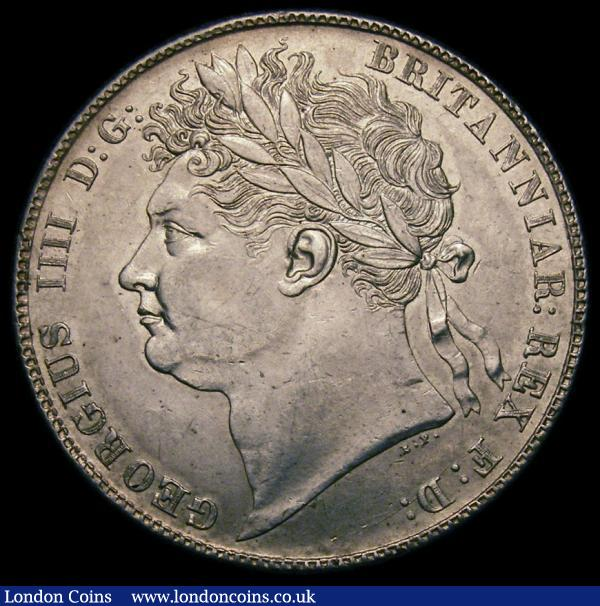 Halfcrown 1820 George IIII ESC 628 Bull 2310 EF and graded 60 by LCGS : English Coins : Auction 168 : Lot 1352