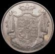 London Coins : A168 : Lot 1358 : Halfcrown 1834 WW in block ESC 660, Bull 2474 EF lightly cleaned with some hairlines, still an attra...