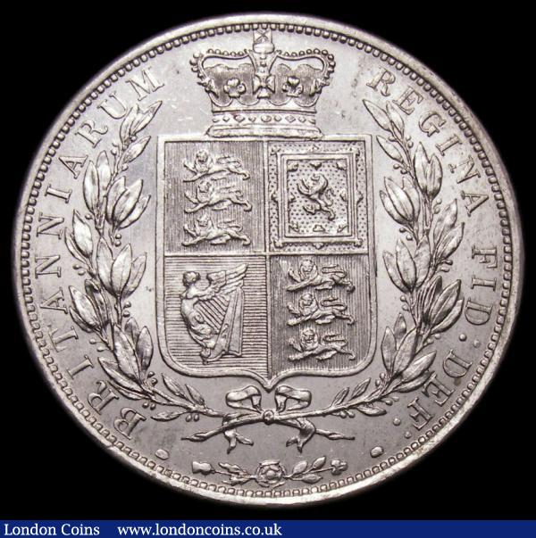 Halfcrown 1886 ESC 715, Bull 2767 UNC/AU and lustrous, in an LCGS holder and graded LCGS 75, Ex-London Coins Auction A157 4/6/2017 Lot 2627, hammer price £280  : English Coins : Auction 168 : Lot 1378