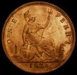 London Coins : A168 : Lot 1454 : Penny 1874 Freeman 70 dies 7+G, UNC with around 75% lustre, in an LCGS holder and graded LCGS 80, Ex...