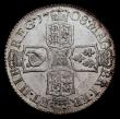 London Coins : A168 : Lot 1472 : Shilling 1708 Third Bust ESC 1147, Bull 1399 UNC or near so and lustrous, in an LCGS holder and grad...