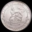 London Coins : A168 : Lot 1498 : Shilling 1908 ESC 1417, Bull 3594, UNC and lustrous, in an LCGS holder and graded LCGS 78, the secon...