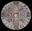 London Coins : A168 : Lot 1505 : Sixpence 1707 Plumes ESC 1590, Bull 1455 Good Fine and attractively toned