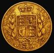 London Coins : A168 : Lot 1528 : Sovereign 1839 Marsh 23 Fine, a very rare date, rated R2 by Marsh