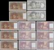 London Coins : A168 : Lot 163 : France 1970-90's Issues (13) with a malgamation of varieties most if not all about UNC - UNC. C...