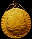 London Coins : A168 : Lot 1649 : Two Guineas 1739 Fair, and with a gold mount attached