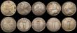 London Coins : A168 : Lot 1745 : Maundy Odds (11) Fourpences (5) 1673 NEF, 1687 7 over 6 VG, 1710 About VF with some haymarking, 1820...