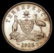 London Coins : A168 : Lot 1979 : Australia Threepence 1925 KM#24 UNC