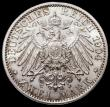 London Coins : A168 : Lot 2005 : German States - Hesse-Darmstadt 2 Marks 1904 400th Birthday of Philipp the Magnanimous KM#372 UNC an...