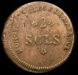 London Coins : A168 : Lot 2007 : German States - Mainz under French occupation 2 Sols 1793 KM602 VF with some surface porosity