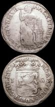 London Coins : A168 : Lot 2052 : Netherlands - Gelderland Gulden (3) 1704 mintmark Knight on horse (previously KM#65.2 now unlisted) ...