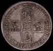 London Coins : A168 : Lot 2160 : Halfcrown 1746 LIMA ESC 606, Bull 1688 Fine or better