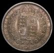 London Coins : A168 : Lot 2170 : Halfcrown 1887 Jubilee Head dies 2A lace closed at front of veil, Davies 641 Unc or near so with a p...