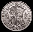 London Coins : A168 : Lot 2189 : Halfcrown 1932 ESC 781, Bull 3743 UNC with traces of old lacquering visible under strong magnificati...