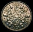 London Coins : A168 : Lot 2337 : Sixpence 1927 ESC 1816 LCGS 88