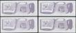 London Coins : A168 : Lot 261 : Saint Helena 50 Pences Pick 5a ND 1979 H.M. Queen Elizabeth issues (4) all in about UNC - UNC includ...