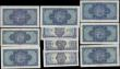 London Coins : A168 : Lot 275 : Scotland The British Linen Bank circa 1950-60's issues (10) in various grades mostly VF-GVF and...