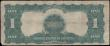 London Coins : A168 : Lot 294 : United States Treasury Silver Certificate 1 Dollar Blue Seal Pick 338c series of 1899 signatures Spe...