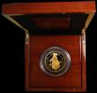 London Coins : A168 : Lot 395 : Five Hundred Pounds 2018 Queen's Beasts - The Black Bull of Clarence 5oz. Gold Proof S.QCH4, FD...