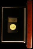 London Coins : A168 : Lot 656 : Canada Ten Dollars Gold 2010 Maple Leaf, one Quarter Ounce of .999 gold BU with London Mint Office c...