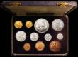 London Coins : A168 : Lot 711 : South Africa Proof Set 1959 (11 coins) comprising Gold Pound, Gold Half Pound, and Crown to Farthing...