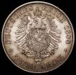 London Coins : A168 : Lot 782 : German States - Prussia 2 Marks 1888A Wilhelm II KM#511 Lustrous UNC with golden tone, a rare one-ye...