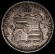 London Coins : A168 : Lot 794 : Hawaii Quarter Dollar 1883 Breen 8032 UNC with minor cabinet friction, and a small nick by the shiel...